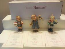Studio Goebel Berta Hummel Minature Christmas Ornaments Figurine Set # 96056 Lot