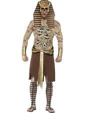 Zombie Pharaoh Egyptian Halloween Horror Fancy Dress Costume Size L P9657
