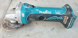 Makita BGA452 Cordless Angle Grinder 18V 115mm (Body Only)
