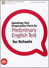 Speaking Test Preparation Pack for PET for Schools Paperback with DVD, Cambridge