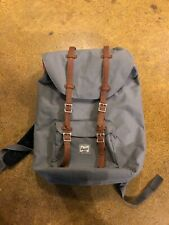 Herschel Little America Backpack (Grey & Tan)
