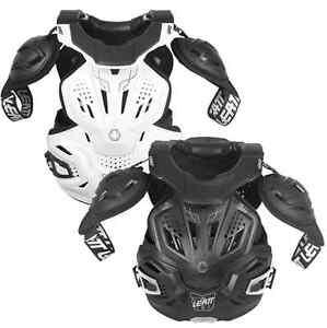 Leatt Fusion 3.0 Vest Neck Chest Back Elbow Body Armor MX ATV Offroad Riding
