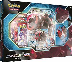 Pokemon V Box Blastoise V-Max Battle BOX New And Sealed