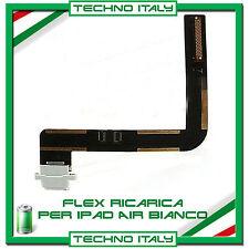 FLAT FLEX DOCK CONNETTORE DI RICARICA PER IPAD AIR BIANCO CARICA USB