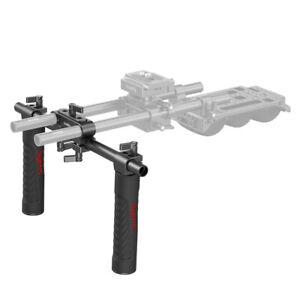 SmallRig Basic Shoulder Rig Handle Kit with 15mm Rod Block-998C