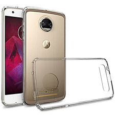 For Motorola Moto Z2 Play Case Slim Clear Tpu Silicon Soft Back Cover