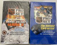 1990 / 91 Pro Set  Series 1 & 2 Hockey Wax Box   Sealed