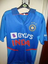 Indian BYJU'S Cricket Team T shirt World Cup SIZE 40 KHOLI  NEW