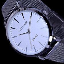 Excellanc Uhr Damenuhr SIlber Farben Mesh Milanaise Armband M-6