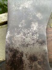 Vintage Collins Legitimus  Crown And Hammer Logo Double Bit Axe
