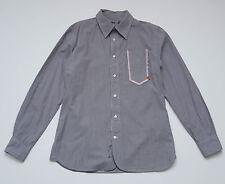 Pepe Jeans de Hombre Informal Camiseta Polo Algodón Gris a Rayas De Manga Larga Entallado S Pequeño