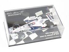 1/43 BMW Sauber F1.06   R.Kubica   Season 2006  Debut F1 GP  Hungary 2006