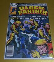 "Black Panther #12 Nov. 1978 Bronze Age Marvel 📖 ""Jack Kirby"" NM- 9.2 1st Print"