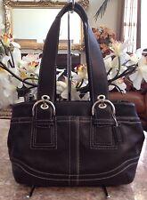 EUC COACH SOHO Brown Leather Purse/Medium Satchel # F10911/Hangtag handbag Purse