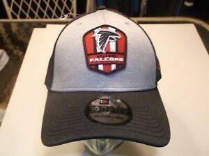 Atlanta Falcons  NFL New Era  3930 2018 On-field stretch-fit hat M/L (Road)