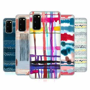 OFFICIAL NINOLA ABSTRACT LINES GEL CASE FOR SAMSUNG PHONES 1
