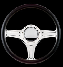 "Street Lite STANDARD BILLET SPECIALTIES - 14""  STEERING WHEEL MASTER KIT BLACK"