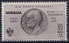 "1934 Colonies Somalia ""Flight Rome Mogadishu"" PA 10 NEW MNH **"