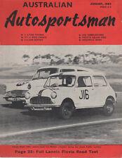 Australian Auto Sportsman 1962 Aug Lancia Flavia Belgian French GP Calder Racewa