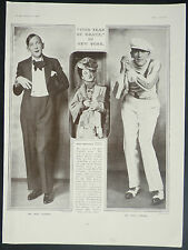 Noel Coward This Year Of Grace Revue Selwyn Theatre New York 1930 Photo Article