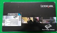 Lexmark C5220CS Cyan Toner (for C522/524/530/532/534) Genuine/Original *SEALED*