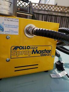 apollo pro-spray system 1200-2 air gun paint sprayer hvlp