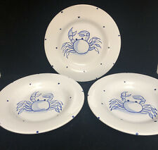 3 Portugal Bowls With Blue Crab (Z1)
