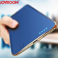 Charger Backup Power Bank External Battery Cover Cases For iPhone 11 Xs Max 8 7+