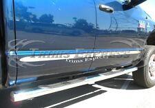 2005-2011 Dodge Dakota Quad / Crew Cab 4Pc Flat Body Side Molding