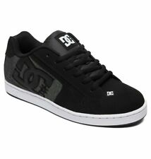 Tg 42 - Scarpe Uomo Skate DC Shoes Net SE Black Resin Nero Sneakers Schuhe