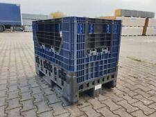 Farbe dunkelgrau LxB 1200 x 800 mm Stapeldeckel für Palettenbox