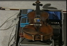 Learn How To Play The Violin Instruction Tutorial, on Plain DVD-R