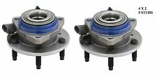 Front Wheel Hub Bearing Assembly Fit BUICK Terraza (FWD, 4W ABS) 2005 PAIR