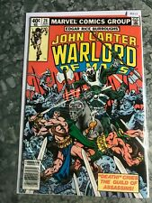 Marvel Comics Group 26 John Carter Warlord Of Mars - HGComic Book  B13-17