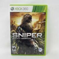 Sniper: Ghost Warrior (Microsoft Xbox 360, 2010) Complete Tested Working