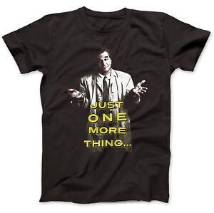 Just One More Thing Columbo Inspired T-Shirt 100% Premium Cotton
