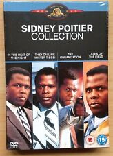 Sidney Poitier Collection DVD new in original packaging 4 DVDs 15