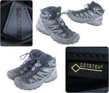 Salomon X Ultra Mid 2 Gtx Black Camping Trail Hiking Boots Shoes Men's Sz 8.5