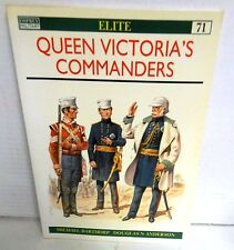 BOOK OSPREY Elite #71 Queen Victoria's Commanders by M Barthorp op 2000 1st Ed