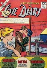 Love Diary #20 Fine, Silver Age Romance, Charlton Comics 1962