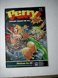 PERRY, unser Mann im All  Nr. 37 - Medusa im All  (Moewig 1968-75)