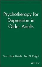 Psychotherapy for Depression in Older Adults: By Qualls, Sara Honn, Knight, B...