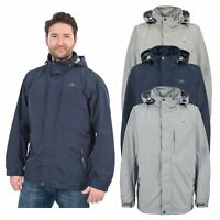 Trespass Hinkley Lightweight Mens Casual Jacket Water Repellent Hooded Coat