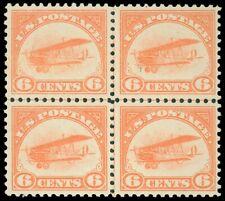 US SCOTT #C1 CENTERLINE Blk/4, Mint-Almost VF, OG-NH/LH, SCV $440, garyposner