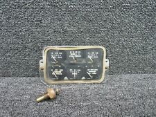 764-905 Piper PA24-250 Instrument Cluster Panel w/ Probe (Volts: 14)