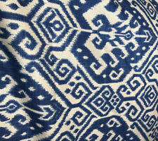 "John Lewis Furnishing Fabric ""IKAT"" W 140 X L 230cm X2 = Total Length 4.60 cm"
