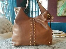 Brown Leather Michael Kors Purse with Gold Hardware