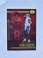 2020 Panini Illusions Football Kirk Cousins Vikings Red Parallel Card /99