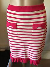 SZ 10 ALANNAH HILL STRETCH SKIRT NEW *BUY FIVE OR MORE ITEMS GET FREE POST