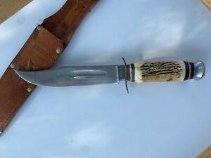 EDGE MARK KNIFE SOLINGEN GERMANY 473 AND SHEATH